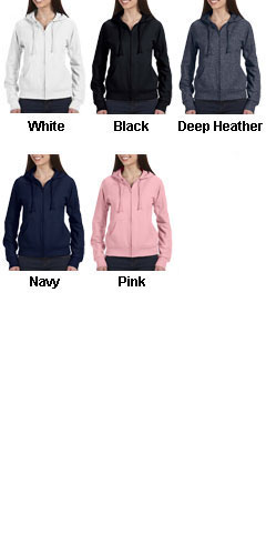 Bella Full Zip Hooded Sweatshirt - All Colors
