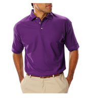 Custom Mens Teflon Treated  Pique Polo NO Pocket