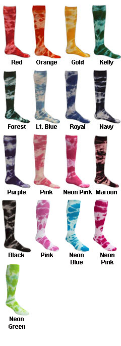 Adult Tie Dyed Socks - All Colors