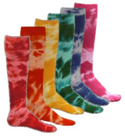 Custom Adult Tie Dyed Socks