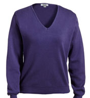 Ladies Pullover V-Neck Sweater