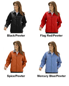 Ladies Fleece Lined Polyurethane Jacket - All Colors