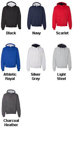 Champion 9.7 oz, 90/10 Cotton Max Quarter-Zip Hood - All Colors