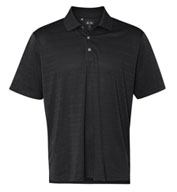 Custom Adidas Golf Men's ClimaLite® Textured Short-Sleeve Polo