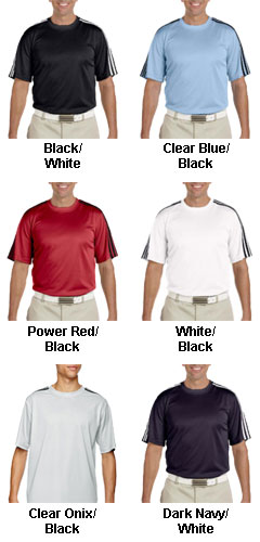 Adidas Mens Climalite® 3-Stripes Tee - All Colors