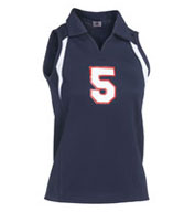 Custom Ladies Heater Collared Volleyball Jersey