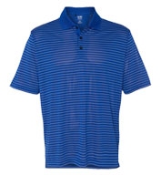 Adidas Mens Climalite® Pencil Stripe Pique Polo