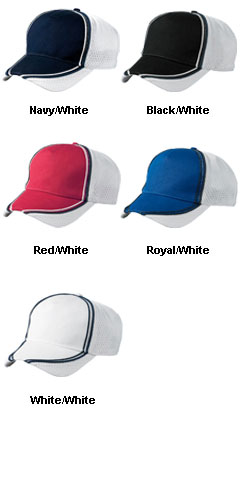 Champion Five Panel Cotton Mesh Sport Cap - All Colors