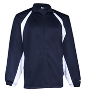 Badger Adult Brushed Tricot Hook Jacket