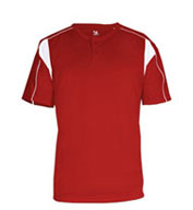 Badger Youth B-Dry Pro Placket Henley