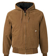 Custom Cheyenne Canvas Work Jacket by Dri Duck Mens