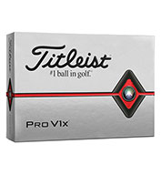 Custom Titleist Pro V1x Golf Balls