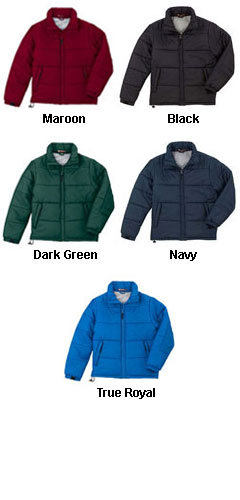 Horizontal Quilt Stadium Jacket   - All Colors