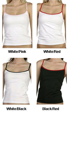 Bella Ladies Contrast Camisole - All Colors