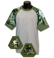 Custom Adult Army Design Tshirt Mens