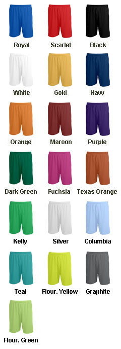 Adult Sweeper Soccer Short - All Colors
