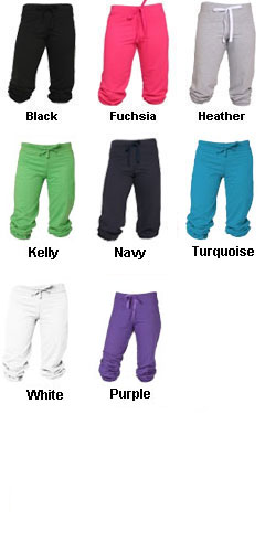 Touchdown Sweat Capris - All Colors