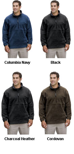 Columbia® - Hemlock Ridge™ 1/4-Zip Pullover - All Colors