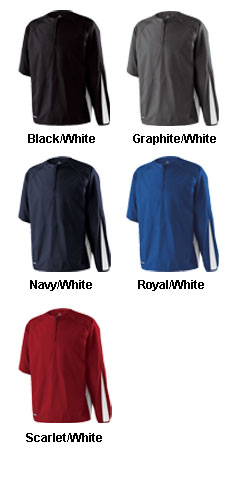 Adult Conversion Coaches Sideline Jersey by Holloway - All Colors