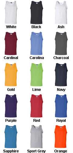 Adult Gildan Tank Top - All Colors