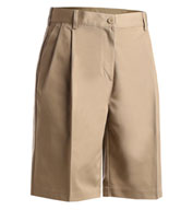 Womens Pleated Utility Short