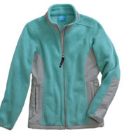 Custom Womens Evolux� Fleece Jacket by Charles River Apparel