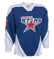 Adult Breakaway Hockey Jersey With Incline Design