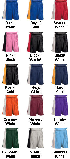 Adult Dazzle Basketball Short - 9 inseam - All Colors