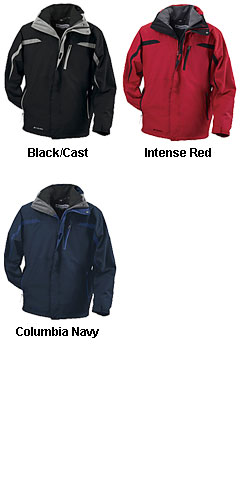 Columbia Mens Criterion Interchange System Parka - All Colors