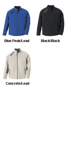 Mens 3-Layer Soft Shell Jacket - All Colors