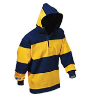 Custom Hooded Rugby Shirt