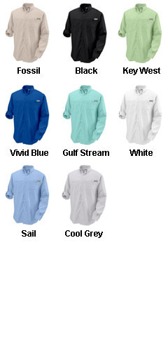 Columbia Mens Tamiami II Long Sleeve Woven Shirt - All Colors