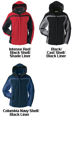 Columbia Womens Arctic Trellis� Interchange System Parka - All Colors