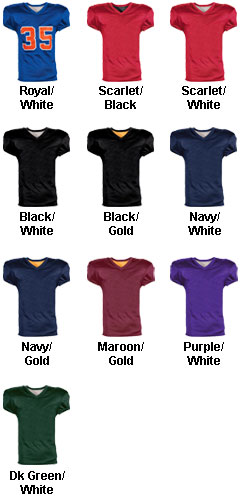 Youth  Fleaflicker Reversible Football Jersey - All Colors