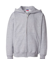 Custom Champion Youth Heavyweight Full-Zip Hooded Sweatshirt