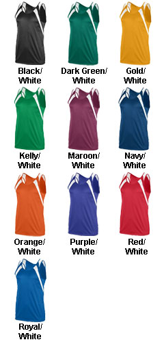 Ladies Wicking Tank with Shoulder Insert - All Colors