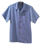 South Seas Solid Camp Shirt