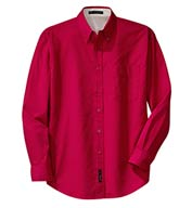 Mens Long Sleeve Easy Care Shirt