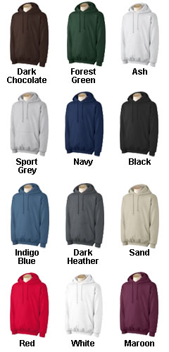 80/20 Heavyweight Ultra Cotton ® Pullover Hooded Sweatshirt - All Colors
