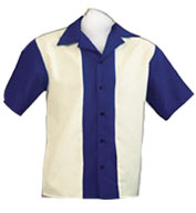 Custom Youth  Rocabilly 80s Bowling Shirts