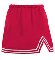 Custom Ladies A-Line Cheer Skirt With V-Notch