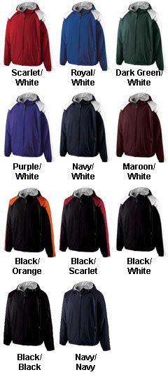 The Homefield by Holloway Lightweight Youth Sideline Jacket - All Colors