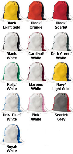 Home and Away Drawstring Backpack - All Colors