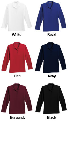 Ladies Long Sleeve Silk Touch� Sport Shirt - All Colors