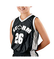 Youth Basketball Replica Reversible Jersey by Alleson