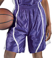 Womens eXtreme Dazzle Reversible Basketball Short by Alleson
