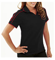 Custom Tach Womens Racing Polo