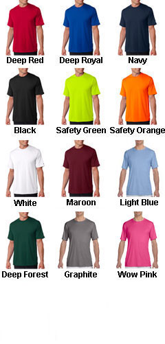 Hanes 4 oz. Cool Dri� T-Shirt - All Colors