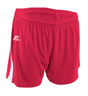 Womens Low Rise Performance Softball Shorts