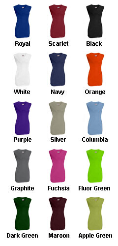 Womens On Deck Sleeveless Faux Full Button Down Jersey - All Colors